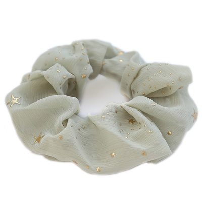 Scrunchie star olive