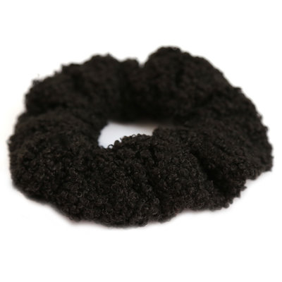 Scrunchie teddy black