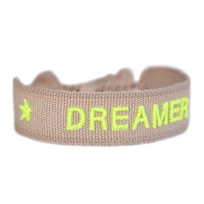 Gewebtes armband DREAMER