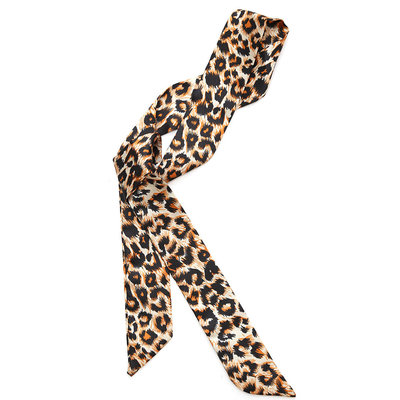Seiden schal leopard
