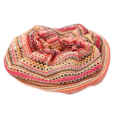 Scrunchie large boho terra