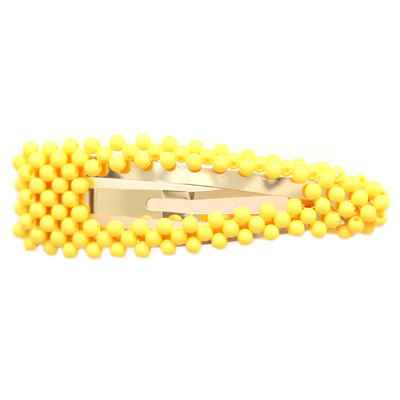 Statement haarspange bubble yellow