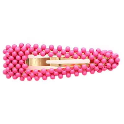 Statement haarspange bubble pink
