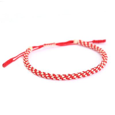 Buddhist armband red