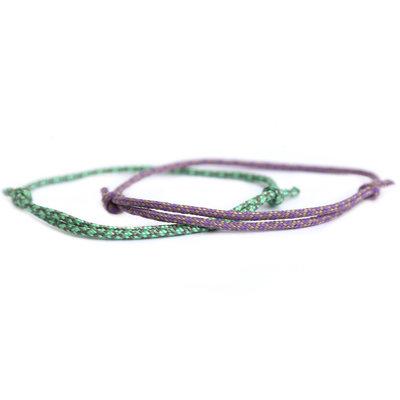 Armbänder set surf culture lilac