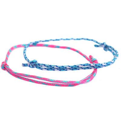 Armbänder set surf culture blue