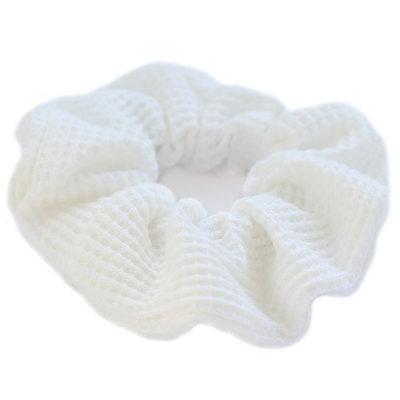 Scrunchie waffle white