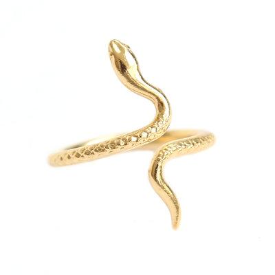 Ring snake gold