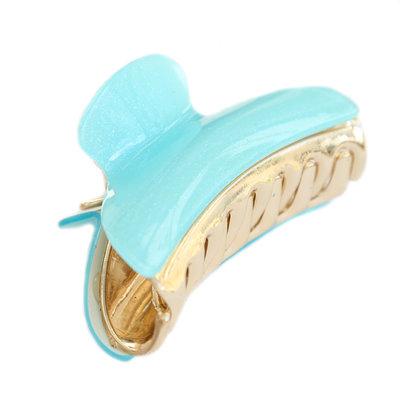 Haarspange ice blue