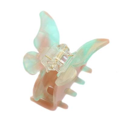 Haarspange butterfly azur