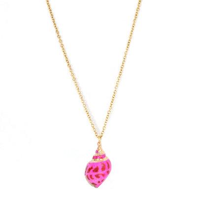 Kette Palaeo shell pink