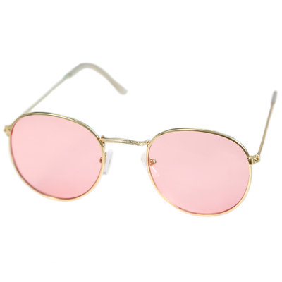 Sonnenbrille pilot light pink