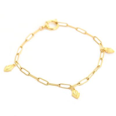 Fußketten ocean drops gold