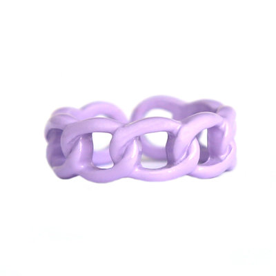 Ring chain lilac