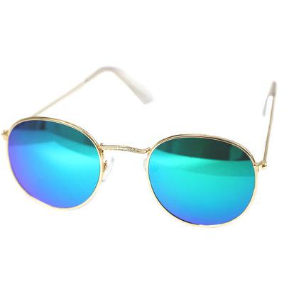 Sonnenbrille pilot blue green