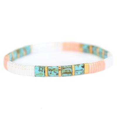 Oyster pastel armband