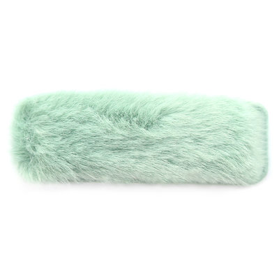 Haarspange fluffy mint