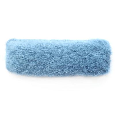 Haarspange fluffy blue