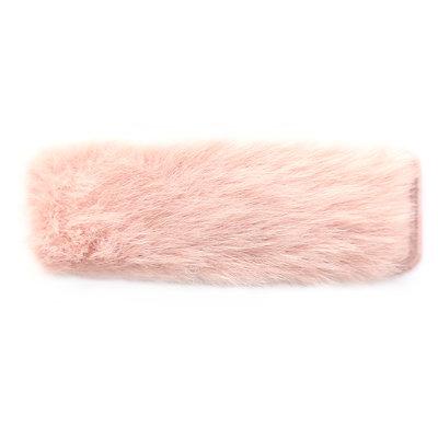 Haarspange fluffy rose