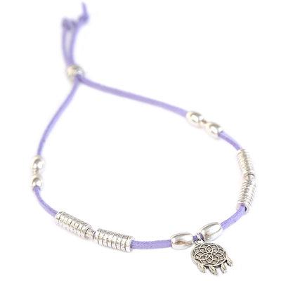 Fußketten dreamcatcher lilac