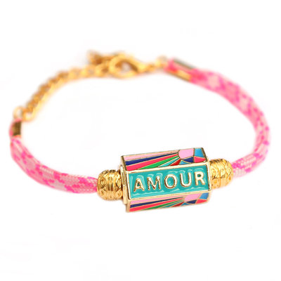 Armband amour pink