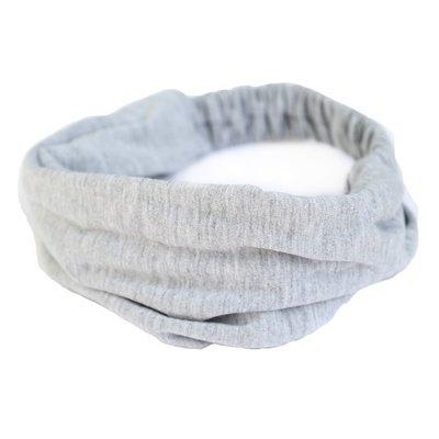 Haarband Jersey grey