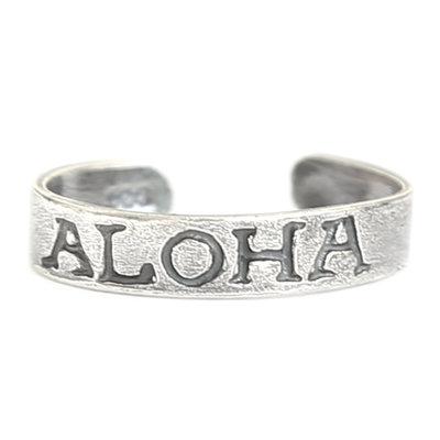 Zehenringe Aloha (silber)