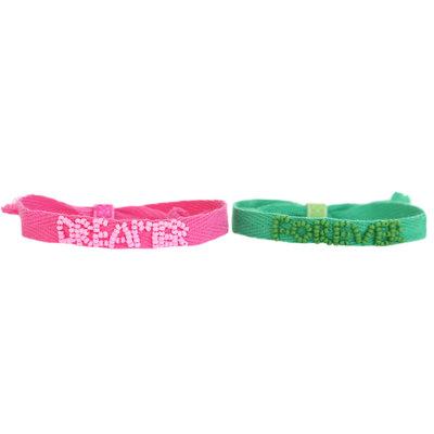 Forever dreamer Set mit 2 Armbändern