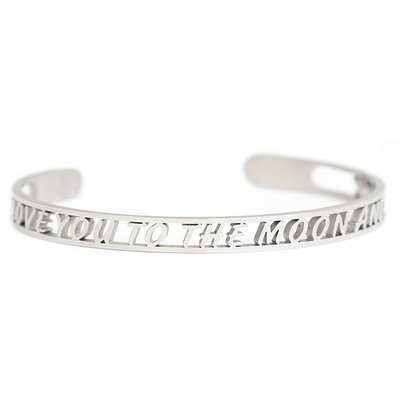 I love you to the moon and back Armband