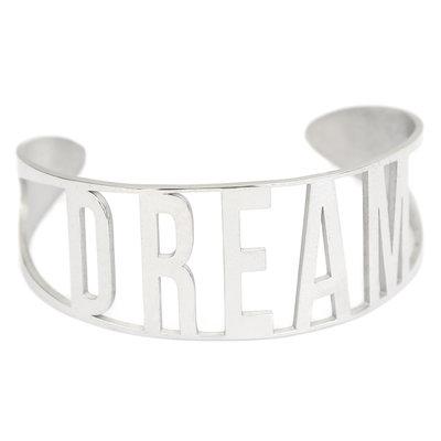Dream armband silver