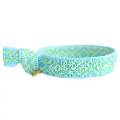 Gewebtes Armband Mexican blue