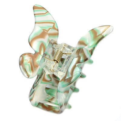 Haarspange butterfly mint melee