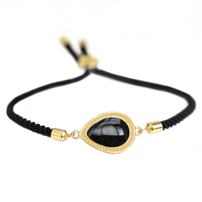 Armband Versailles black gold