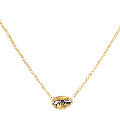 Kette small shell gold