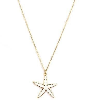 Kette Starfish gold