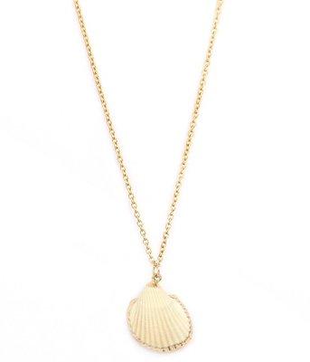 Kette Shell gold edges