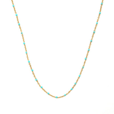 Kette little chain turquoise