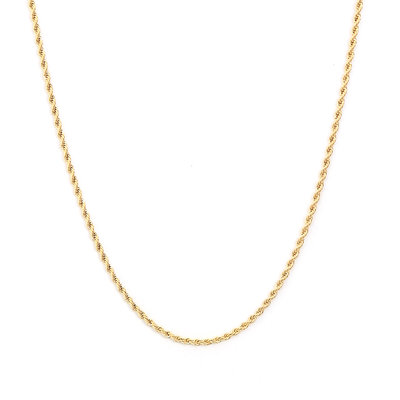 Kette twisted gold