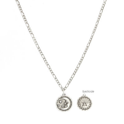Kette sun and moon silver
