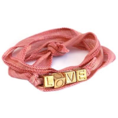 Love wrap old rose shimmer