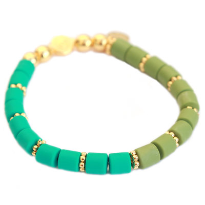 Armband dolce green teal