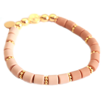 Armband dolce old rose taupe