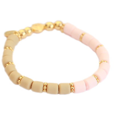 Armband dolce pink champagne