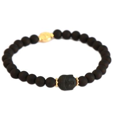 Armband buddha black