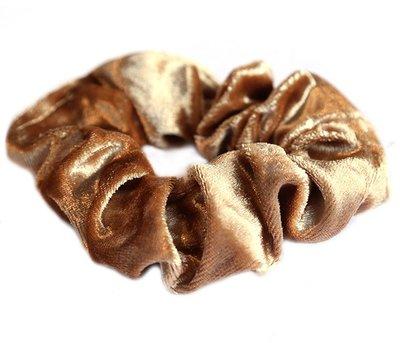 Velvet scrunchie blond