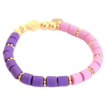 Armband dolce pink purple