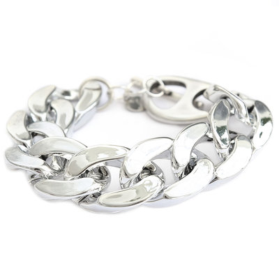 Armband large chain silber