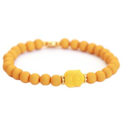 Armband buddha ocher