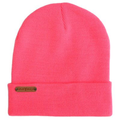 Beanie hot pink