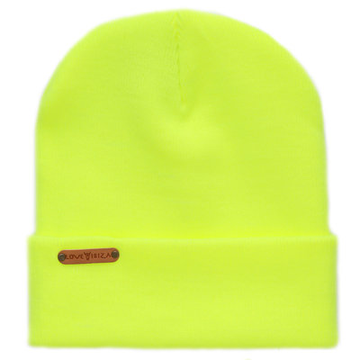 Beanie neon yellow